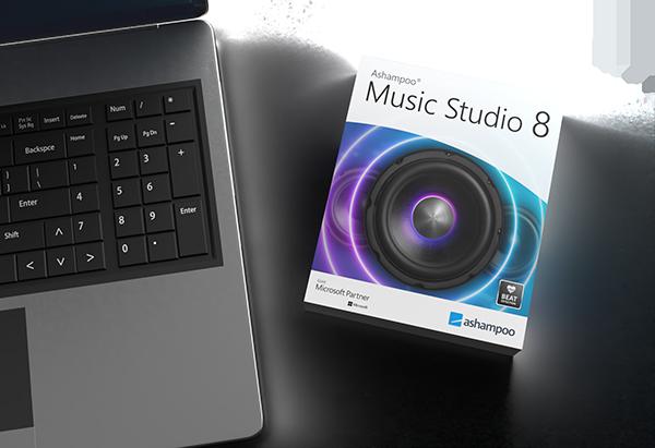 music studio 8 presentation laptop