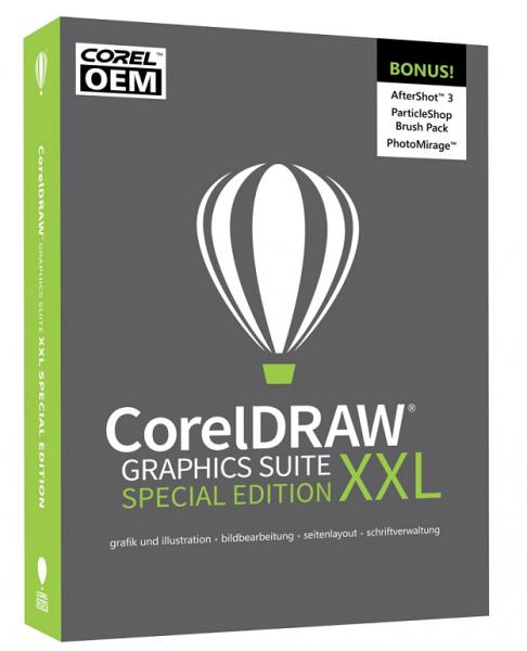CorelDRAW Graphics Suite XXL Special Edition