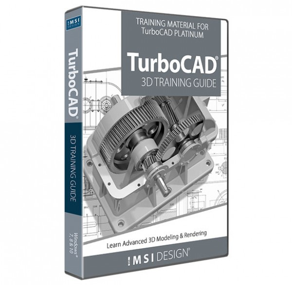 3D Training Guide for TurboCAD, English