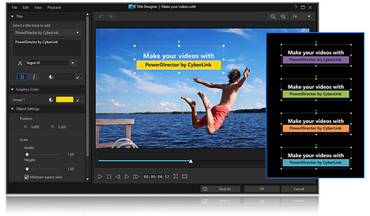 Create 1:1 square video for your Facebook and Instgram posts.