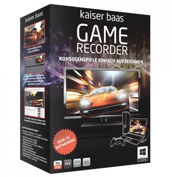 Kaiser Baas Game Recorder