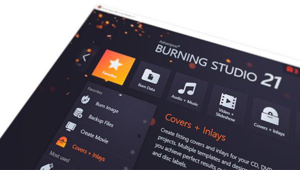 Burning Studio 21 - screenshot