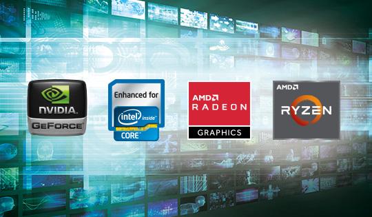 PowerDirector bietet beispiellose Leistung beim Rendern von HD- und 4K-Videos mit CPU/GPU-Leistungssteigerungen