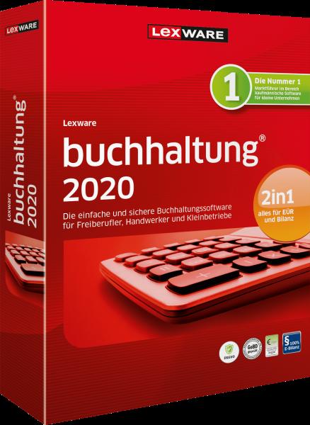 Lexware Buchhaltung 2020, 365 Tage Laufzeit [Download]