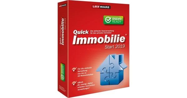 Lexware QuickImmobilie Start 2020, 10 Wohneinheiten, 365 Tage Version