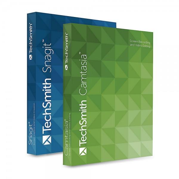 TechSmith Camtasia 2020 + Snagit 2020 Bundle, WIN/MAC, Schulversion, Upgrade