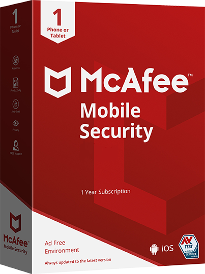 McAfee Mobile Security [1 Device, 1 Year]