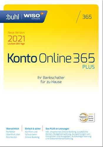 WISO Konto Online 2021 Plus
