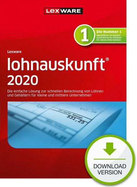 Lexware Lohnauskunft Netzwerkversion 2020, 365 Tage Laufzeit, Download