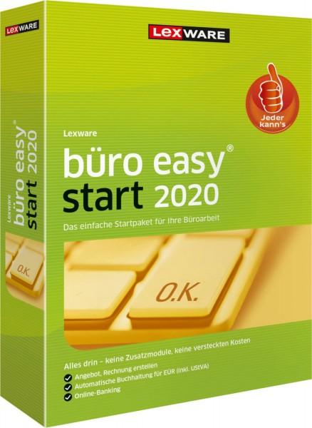 Lexware büro easy start 2020, 365 Tage Laufzeit [Download]