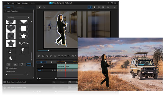 Combine motion graphic elements with your videos' titles to make them stylish and modern.