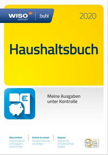WISO Haushaltsbuch 2020, Dauerlizenz, Box