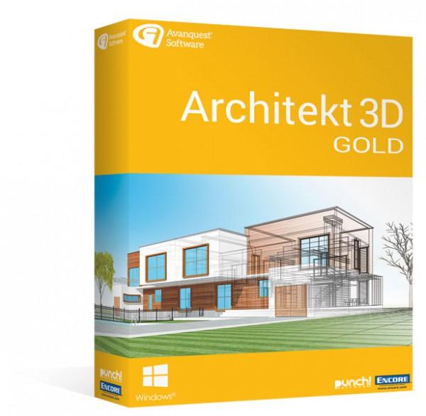 Avanquest Architekt 3D 20 Gold Windows