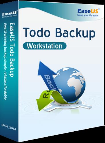 EaseUS Todo Backup Workstation 13.2 Vollversion
