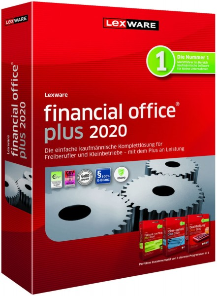 Lexware Financial Office Plus 2020, 365 Tage Laufzeit [Download]